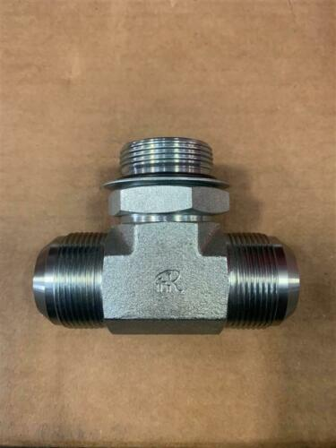 "6803-20-20-20-NWO-FG Fittings Unlimited  1.25"" MJIC x 1.25"" boss oring branch te"