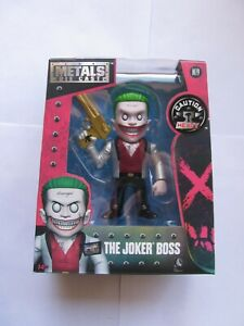 Jada-Metals-Die-Cast-DC-4-034-Suicide-Squad-The-Joker-Boss-New-Free-Shipping-LOOK