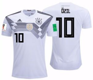 13a18e37c Image is loading ADIDAS-MESUT-OZIL-GERMANY-HOME-JERSEY-WORLD-CUP-