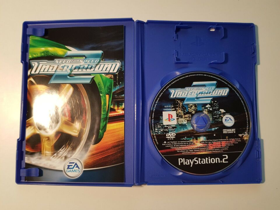 Need for speed underground 2, PS2