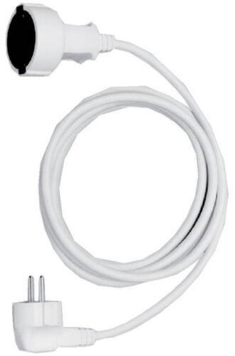 Bachmann Verlängerung-Kabel H05VV-F 3G1,5 2m weiß 1,55Euro//m