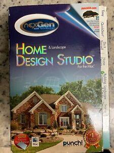 Nexgen Home Landscape Design Studio Software For The Mac Ebay