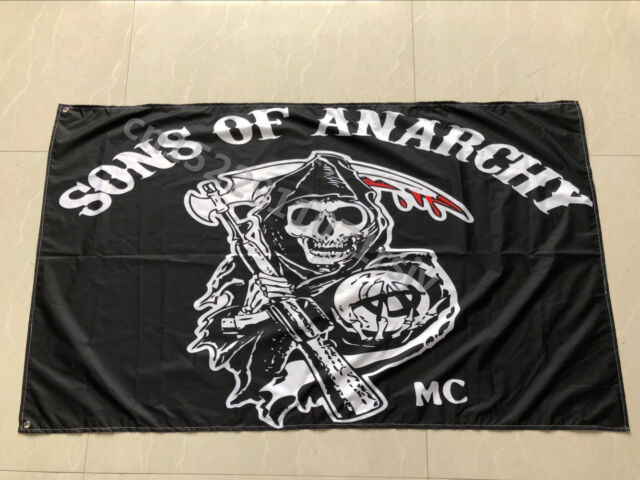 Anarchy Anarchie rot Hissflagge anarchistische Fahnen Flaggen 60x90cm
