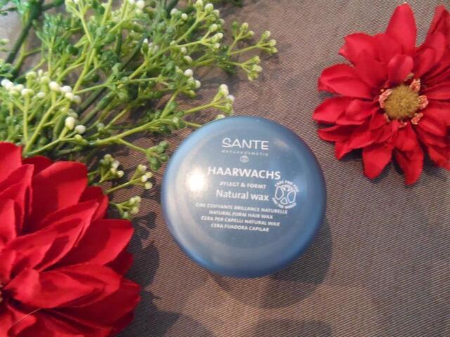 (9,50€/100ml) Sante Haarwachs Natural Wax 50 ml