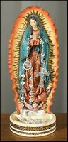 Lady Of Guadalupe Catholic Rosary Holder Religious Statue