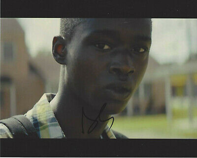 Ashton Sanders Signed Authentic 'moonlight' Chiron 8x10 Photo W/coa Actor Autographs-original