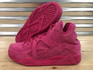 Details about FILA The Cage Easter Pack Lifestyle Shoes Pink Suede Leather  SZ ( 1VB90181-650 )