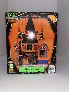 NEW RARE Lemax Spooky Town Halloween Village Witch's Hat -  #84744