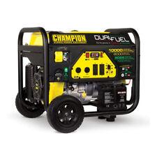 Champion 8000 Watt Portable Quiet Electric Start RV Ready Dual Fuel Generator
