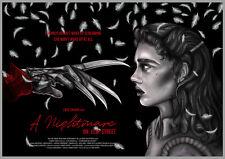 Jemma Klein A NIGHTMARE ON ELM STREET Var Poster Art Print Wes Craven NT Mondo