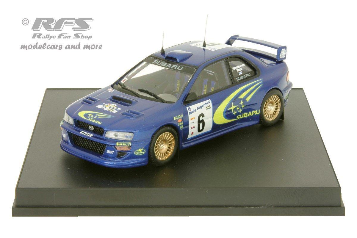 Subaru Impreza WRC Rally silverina 1999-Kankkunen - 1 43 Trofeu 1113