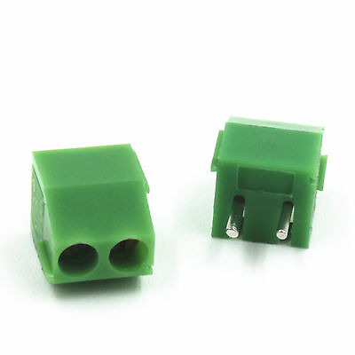 10PCS  New 2P Pin KF350 PCB Mount Terminal Block Connector 3.55mm Pitch