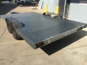 New-BUDGET-Car-Trailer-Carrier-Tandem-extra-wide-axle-14X8FT-2T-USE4-TINY-HOUSE