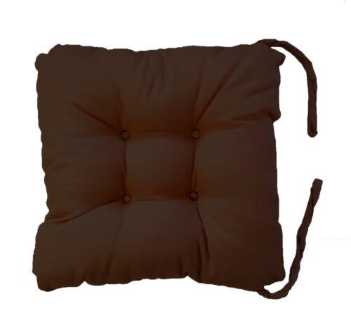 Amovible miteux Chaise Siège Coussin Confortable Épaisses miteux Coussins de salle à manger cuisine