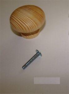 1x-Knopf-aus-Holz-Kiefer-ROH-Durchmesser-45mm-Gesamthoehe-33mm-1x-Schraube