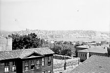 TURQUIE c. 1960 -Panorama Le Bosphore Galata Istanbul- Négatif 8,5 x 6 - Tur 63