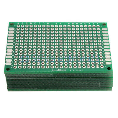 PCB PROTOBOARD DUBLE SIDE 4x6Cm
