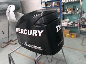 Adesivi motore marino fuoribordo MERCURY 225 OPTIMAX WORLD VERSION