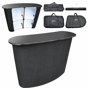 details about portable pop up table podium high counter trade show display speech stand top rh ebay com pop up table mechanism pop up tablet