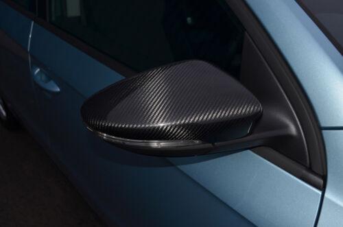 Carbone Fibre Wing Mirror Trim Set Covers to fit VOLKSWAGEN PASSAT CC 2008-16