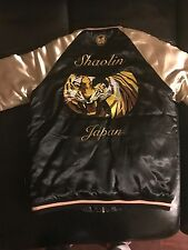 Wu-Tang /Wu Wear Satin Bomber Jacket Extremely Rare. JAPAN
