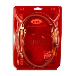 aud-4-369 Hel INOX durites de frein Audi S3 QUATTRO 8V 2.0 TFSI 12/>