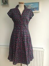 Seasalt Lottie Dress  - Marine Tulips - UK10 - Sales Sample SAVE!!