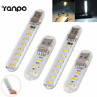 2X Portable Bright 5730 SMD 2W 6W 5V LED Night Light USB Lamp for Laptop Reading