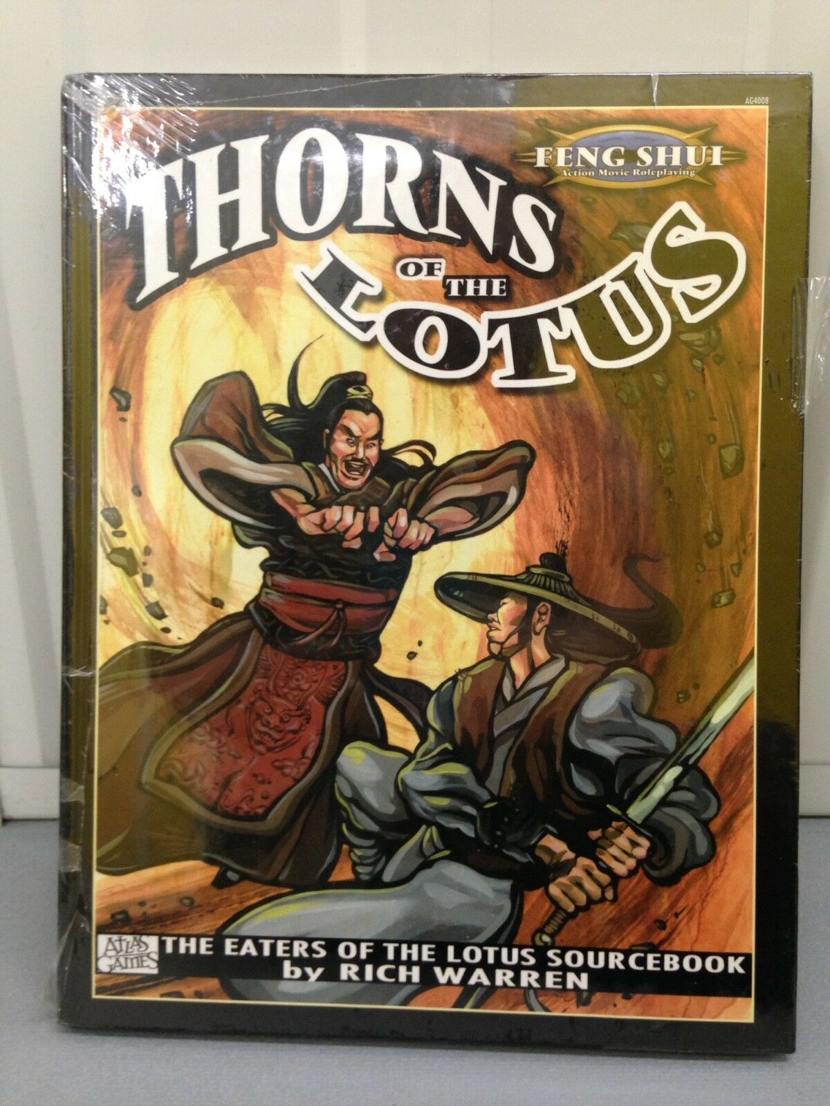 Thorns of the Lotus Atlas Games Feng Shui Action Movie Roleplaying plus bonus