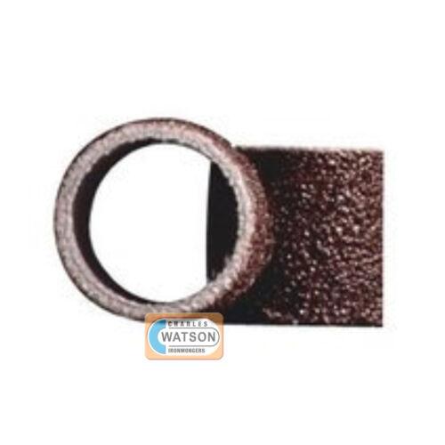 DREMEL Multi Tool Accessories 431 6 x 6.4mm Sanding Bands MULTIPACK 60 Grit Rota