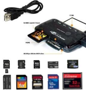 ALL-IN-ONE-Kartenleser-Speicherkarten-Lesegeraet-SD-Cardreader-USB-2-0-NEU