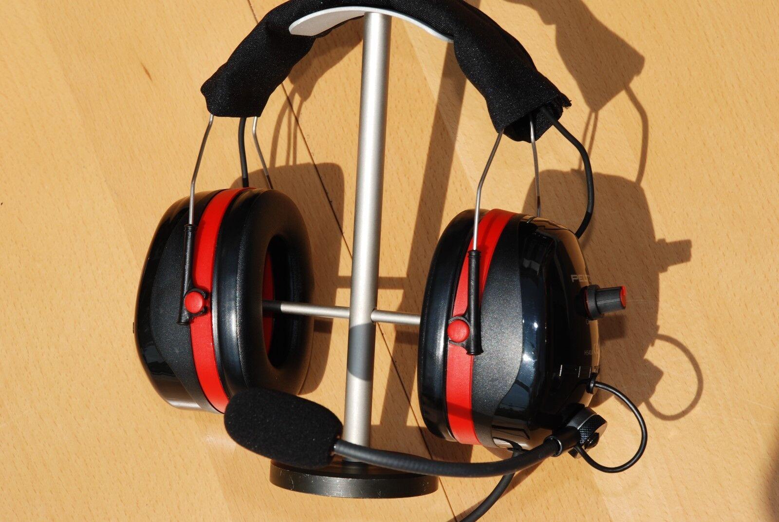 Piloten Headset für TELCOM ANR Intercomanlagen  Vector Vector  0UL NEU  -31dB TOP c0cca3