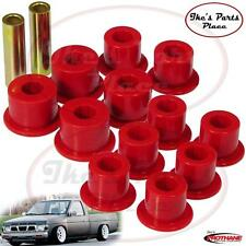 Prothane 14-1003 Rear Spring Eye&Shackle Bushing Kit For Nissan D21/Hardbody 2WD