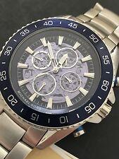 Michael Kors Men's Jet-Master Skeleton Automatic Chronograph Watch MK9024 NWT