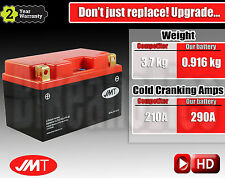 Upgrade to Lightweight & high performance LITHUM motorcycle battery - YTZ14S-BS