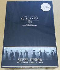Rare- SUPER JUNIOR Limited Premium PhotoBook [Boys in City Season 4. Paris] New