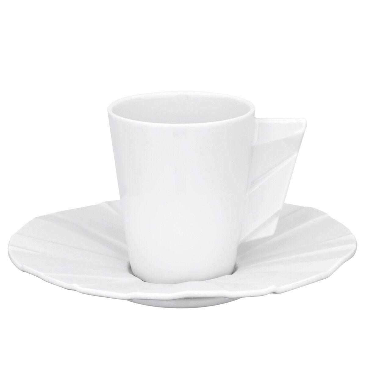 Vista Alegre Matrix Tasse à café & soucoupe-Lot de 8