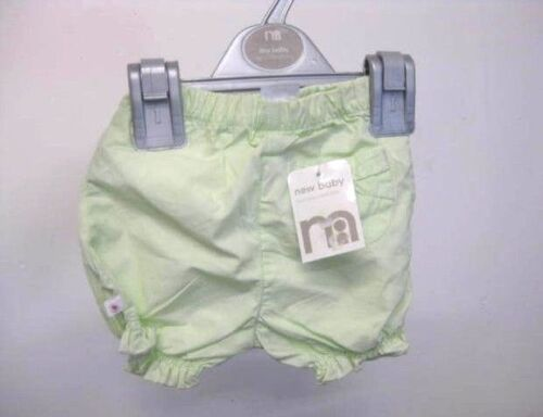 Mothercare Baby Girl Clothing Pants Shorts for baby up to 7.5lbs//3.4kg 92cm