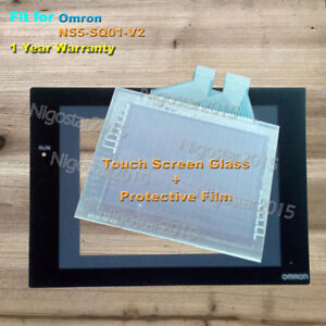 For Omron NS12-TS01-V2 Touch Panel Glass Protective Film 1 Year Warranty