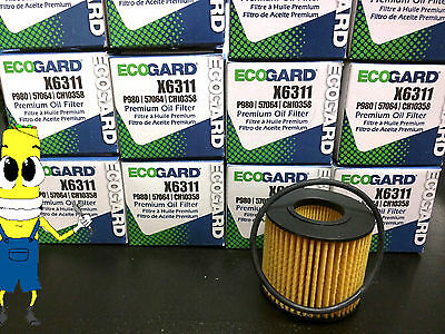 Premium Oil Filter for Toyota Sequoia with 4.6L /& 5.7L Engine 2008-2015 Pack 2