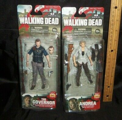 The Walking Dead THE GOVERNOR McFarlane Series 4 MOC TWD