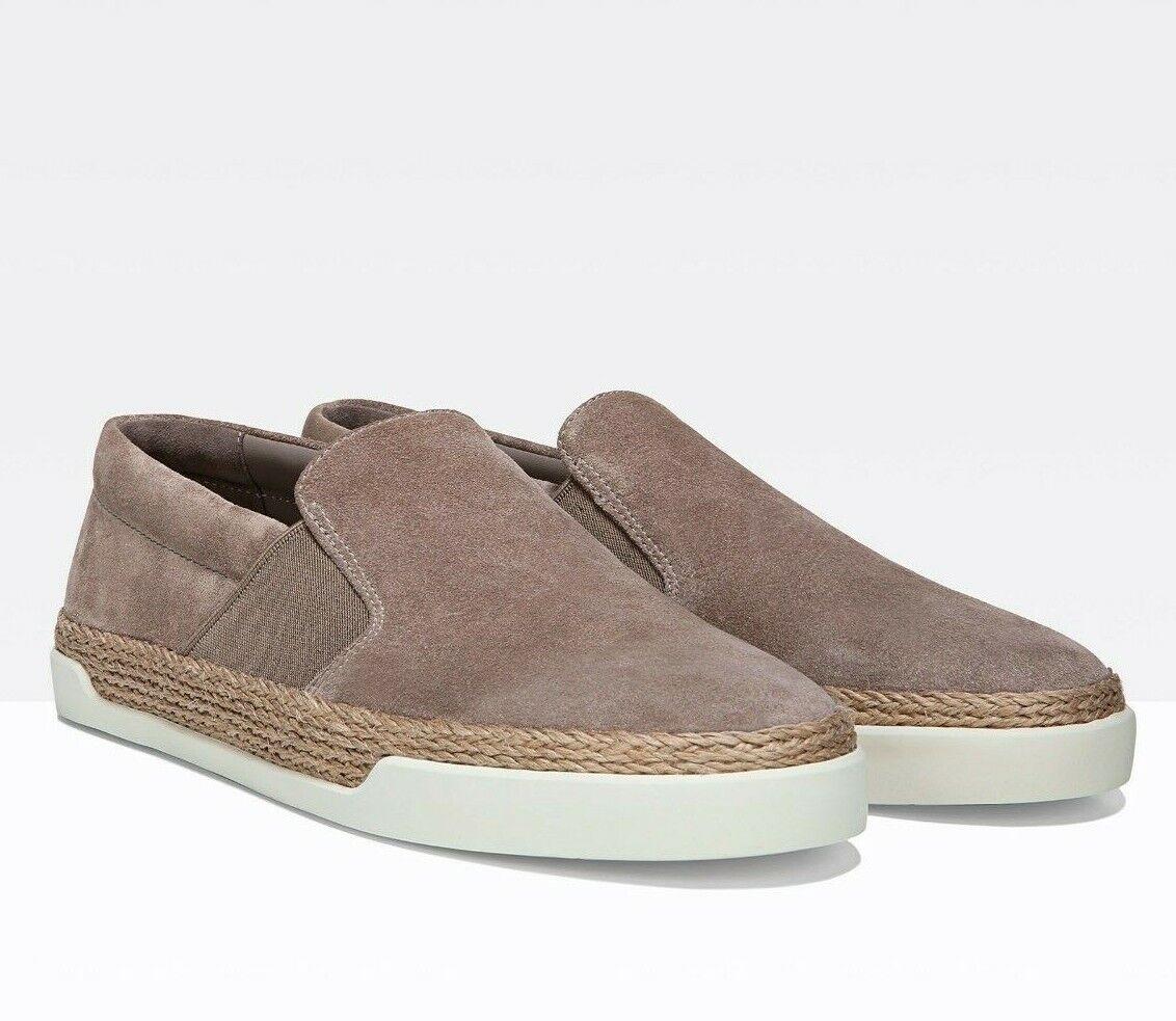 NIB Vince Johan Suede Slip On Sneakers Light Woodsmoke Size 7.5, 8.5  225