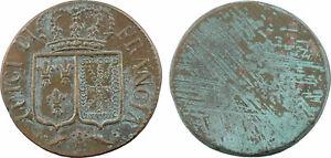 France-Louis-XVI-poids-monetaire-uniface-louis-aux-ecus-LUIGI-DI-FRANCIA-29
