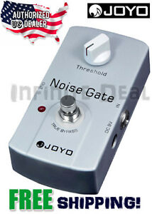 new joyo jf 31 noise gate noise reduction signal remover guitar effects pedal 8963201247419 ebay. Black Bedroom Furniture Sets. Home Design Ideas