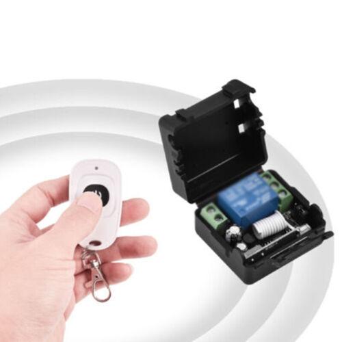 DC12V 1CH Relay Receiver RF Transmitter-433Mhz Wireless Remote Control Switch