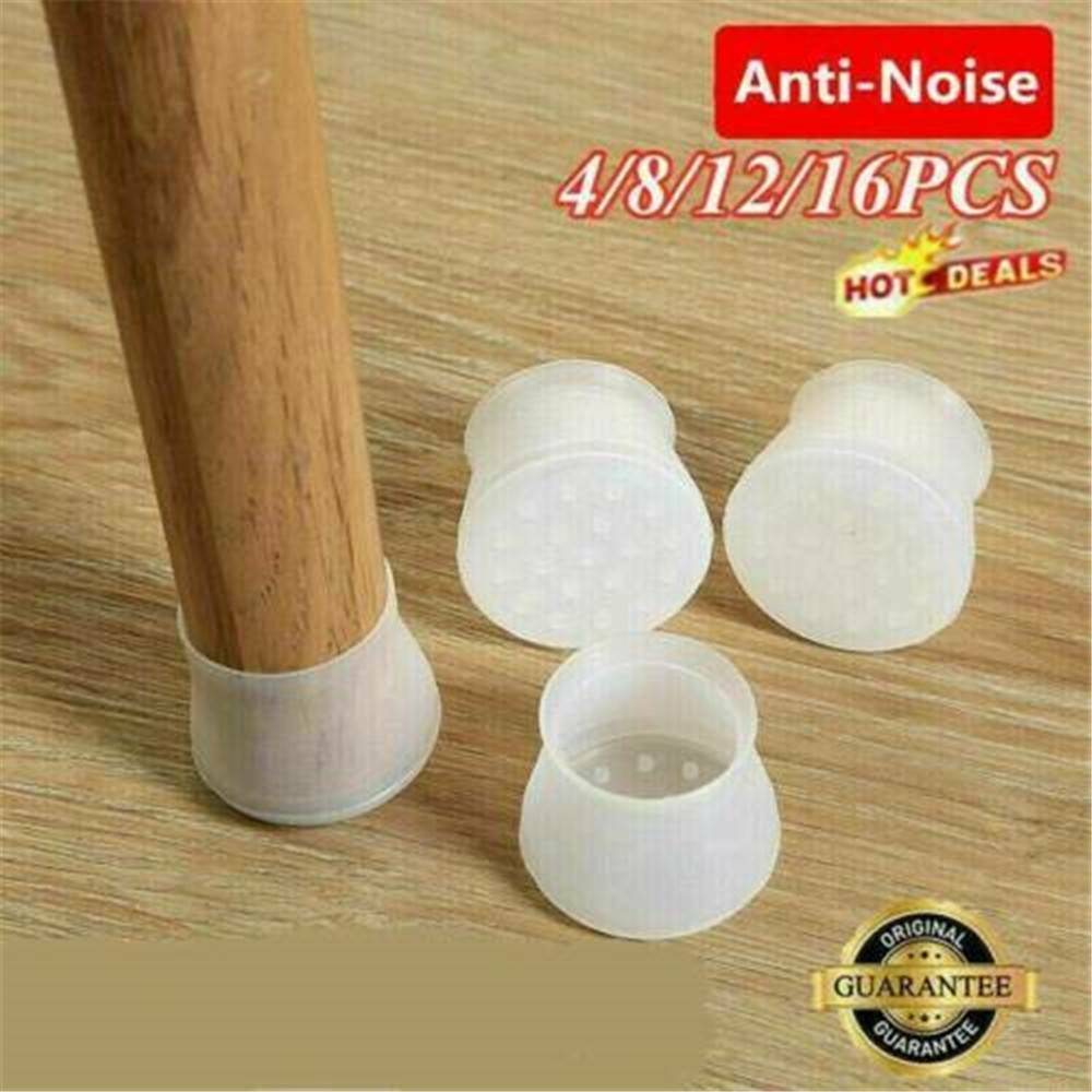 4//8//16pcs Silicon Furniture Leg Protection Cover Table Pad Floor Protector