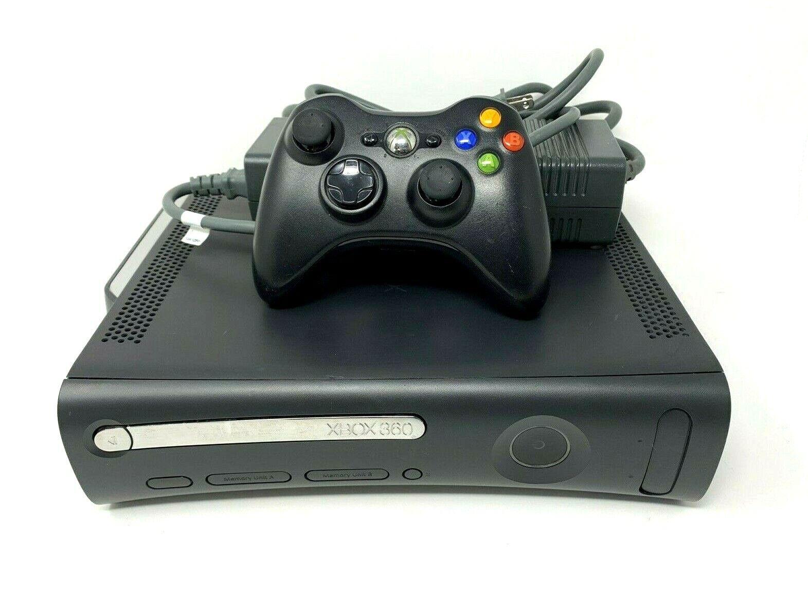 Microsoft Xbox 360 Elite 120GB Black Console Bundle Wireless Controller Tested