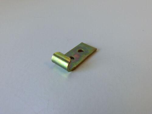 Schließhaken f. Kistenverschlüsse 12 x 30 Stahl gelb verzinkt Kistenverschluss