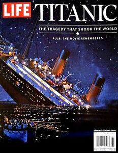 Image result for titanic life magazine