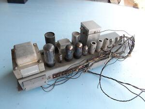 Vintage-Tube-Power-amp-chassis-Hammond-2x-6v6-tube-model